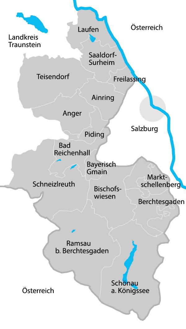 Berchtesgadener Land Karte.Landratsamt Berchtesgadener Land Landratsamt Bgl